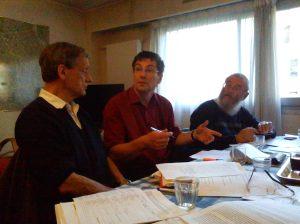 Gérard Marle, Denis Cordonnier, Germain Bertrand