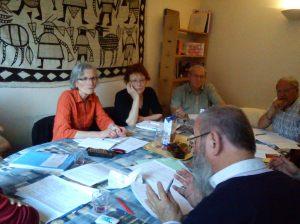 Anne-Marie Chaton, Yvette Martin, José Dhers, Jean-Pierre Pascual